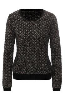 Пуловер фактурной вязки Escada