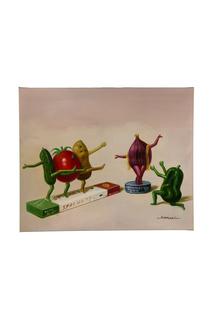 "Картина ""Спагетти-танцы"" JANE AND JACK ART STUDIO"