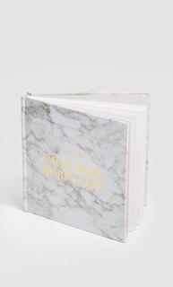 Альбом в обложке с мраморным узором Stradivarius