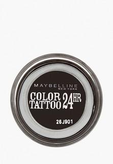 Тени для век Maybelline New York Color Tattoo 24 часа, оттенок 60, Бессменный черный, 4 мл