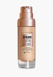 """Тональный крем Maybelline New York -флюид для лица """"Dream Satin Fluid"""", оттенок 01, Светло-бежевый, 30 м"""