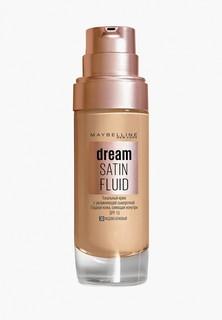 """Тональный крем Maybelline New York -флюид для лица """"Dream Satin Fluid"""", оттенок 30, Медово-бежевый, 30 м"""