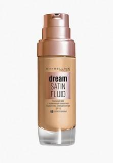 """Тональный крем Maybelline New York -флюид для лица """"Dream Satin Fluid"""", оттенок 21, Золотисто-бежевый, 30 мл"""