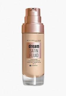 """Тональный крем Maybelline New York -флюид для лица """"Dream Satin Fluid"""", оттенок 03, Слоновая кость, 30 м"""
