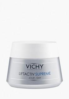 Набор для ухода за лицом Vichy Крем против морщин и для упругости нормальной кожи Liftactiv Supreme, 50 мл + Очищающая пенка, придающая сияние Purete Thermale