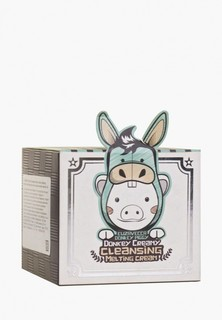 Средство для снятия макияжа Elizavecca DONKEY CREAMY на основе ослиного молока, 100г