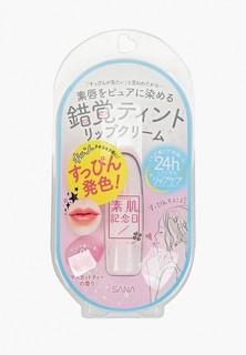 Бальзам для губ Sana тон 01, Нежный розовый