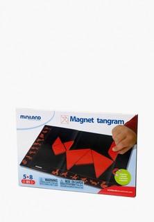 Набор игровой Miniland Головоломка Танграм Магнитный