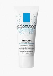 Крем для лица La Roche-Posay HYDREANE EXTRA RICHE, ежедневный, базовый увлажняющий для кожи сухого или нормального типа, 40 мл
