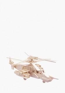 Конструктор Мир деревянных игрушек Черная Акула Ка-50