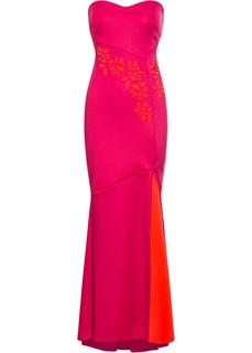 Длинные платья Платье вечернее с вырезами Bonprix