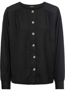 Блузки с длинным рукавом Блузка на пуговицах Bonprix