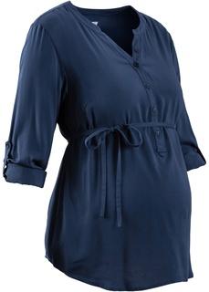 Футболки и блузки Блузка на удлиненной линии пуговиц Bonprix
