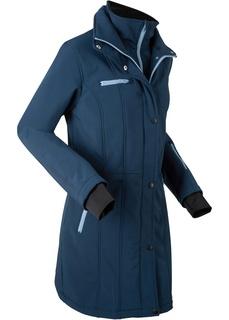 Пальто Удлиненная куртка softshell Bonprix