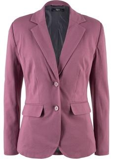Пиджаки Трикотажный жакет на двух пуговицах Bonprix