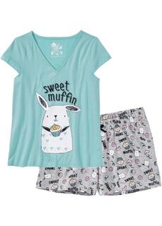 Ночное белье Пижама с шортами Bonprix