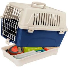 Переноска Ferplast ATLAS 10 ORGANIZER с поддоном для аксессуаров для кошек и собак (73007399)