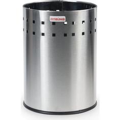 Корзина металлическая для мусора Лайма Bionic матовая, перфорированная, несгораемая, 7 л 232267