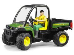 Игрушка Bruder John Deere Gator XUV 855D c фигуркой водителя (02-490)