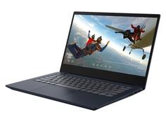 Ноутбук Lenovo S340-14IWL Blue 81N700J1RU (Intel Core i3-8145U 2.1 GHz//8192Mb/256Gb SSD/No ODD/Intel HD Graphics/Wi-Fi/Bluetooth/Cam/14/1920x1080/Windows 10)