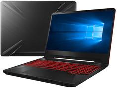 Ноутбук ASUS TUF FX505DT-AL050T 90NR02D2-M04390 (AMD Ryzen 7 3750H 2.3 GHz/16384Mb/1000Gb+256Gb SSD/nVidia GeForce GTX 1650 4096Mb/Wi-Fi/Bluetooth/Cam/15.6/1920x1080/Windows 10 Home 64-bit)