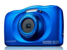 Фотоаппарат Nikon Coolpix W150 Blue