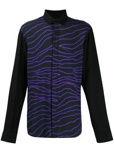 Just Cavalli рубашка с абстрактным принтом