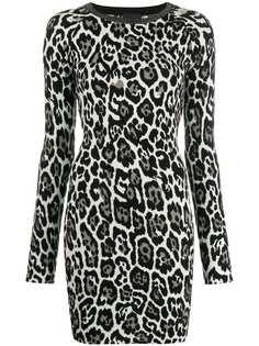 Just Cavalli платье с леопардовым принтом