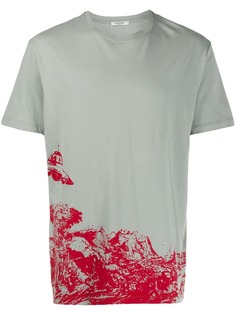 Valentino футболка с принтом UFO