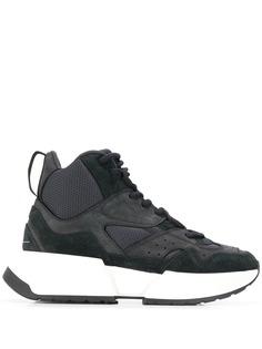 MM6 Maison Margiela высокие кроссовки со вставками