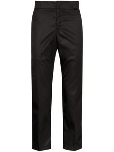 Prada укороченные брюки