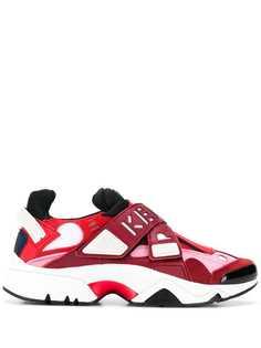 Kenzo кроссовки на массивной подошве