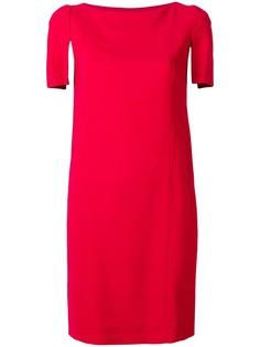 Lanvin платье с рукавами с разрезами