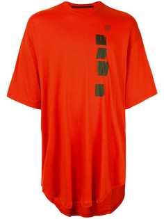 Julius футболка с принтом