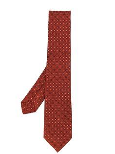 Kiton галстук с узором
