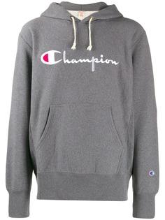 Champion худи с логотипом