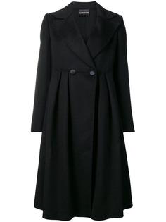 Emporio Armani пальто длины миди на пуговицах