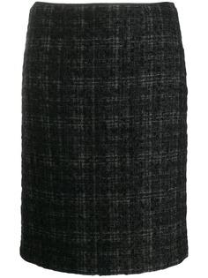 Prada Pre-Owned клетчатая юбка 2000-х годов
