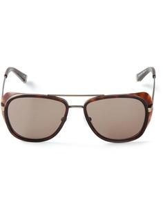 Matsuda солнцезащитные очки в круглой оправе