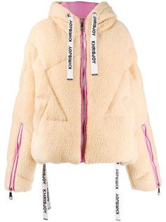 Khrisjoy куртка-пуховик из искусственной овчины