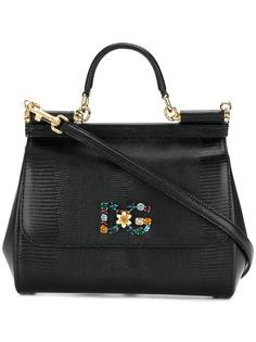 Dolce & Gabbana средняя сумка-тоут Sicily