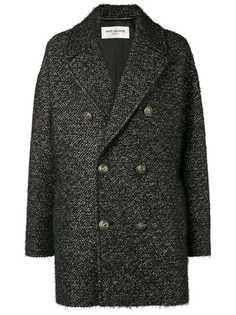 Saint Laurent short pea coat