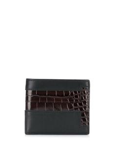 Tods бумажник с тиснением под кожу крокодила