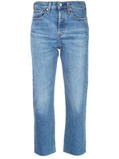 Levis джинсы Wedgie прямого кроя