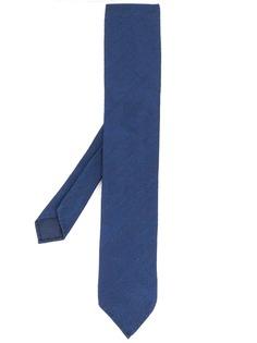 Lardini галстук с узором в елочку