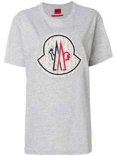 Moncler футболка с круглым вырезом под горло