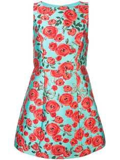 Alice+Olivia платье с цветочным принтом