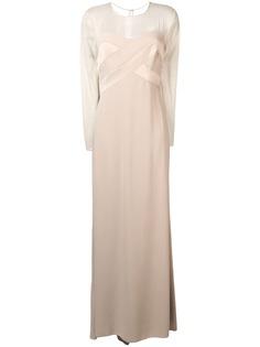 Max Mara длинное вечернее платье