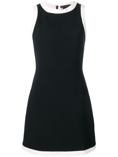 Alice+Olivia платье с контрастной отделкой