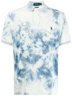 Polo Ralph Lauren рубашка-поло с принтом тай-дай